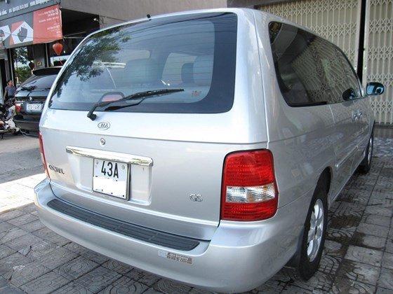 Cần bán Kia Carnival đời 2006, màu bạc, nhập khẩu chính hãng, như mới, giá 298tr-3