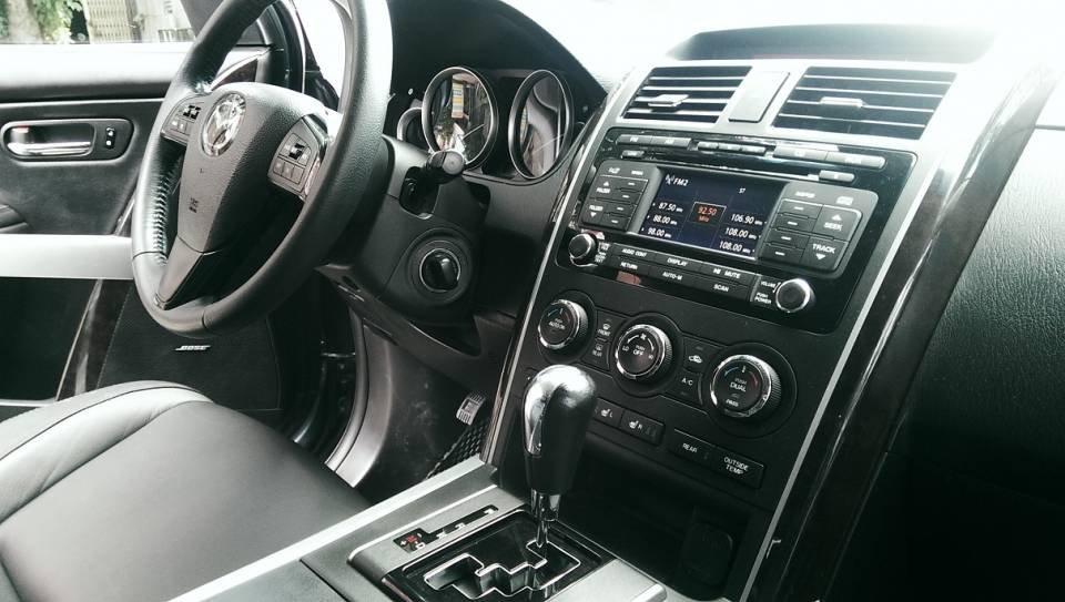 Bán ô tô Mazda CX 9 2012, màu xanh đá, nhập khẩu nguyên chiếc-12