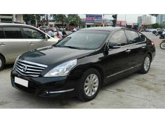 Bán ô tô Nissan Teana đời 2010, màu đen, nhập khẩu nguyên chiếc, chính chủ, giá 700tr-3