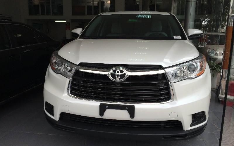 Bán Toyota Highlander 2015 sản xuất 2015 đủ màu, vui lòng liên hệ ngay để có giá tốt nhất-0