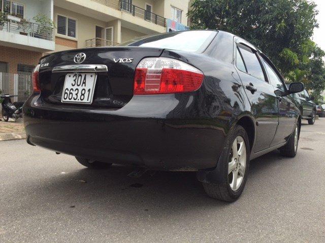 Cần bán gấp xe Toyota Vios đời 2007, màu đen, xe nhập, chính chủ-3