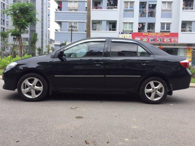 Cần bán gấp xe Toyota Vios đời 2007, màu đen, xe nhập, chính chủ-2