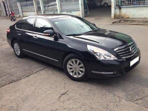 Bán ô tô Nissan Teana đời 2010, màu đen, nhập khẩu nguyên chiếc, chính chủ, giá 700tr-0