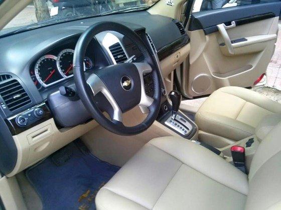 Bán xe Chevrolet Captiva LTZ màu vàng cát, số tự động, SX 2008, loại xe cao cấp-6