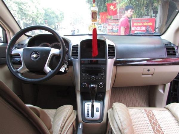 Xe Chevrolet Captiva - cũ trong nước 2008, màu đen, số tự động-8