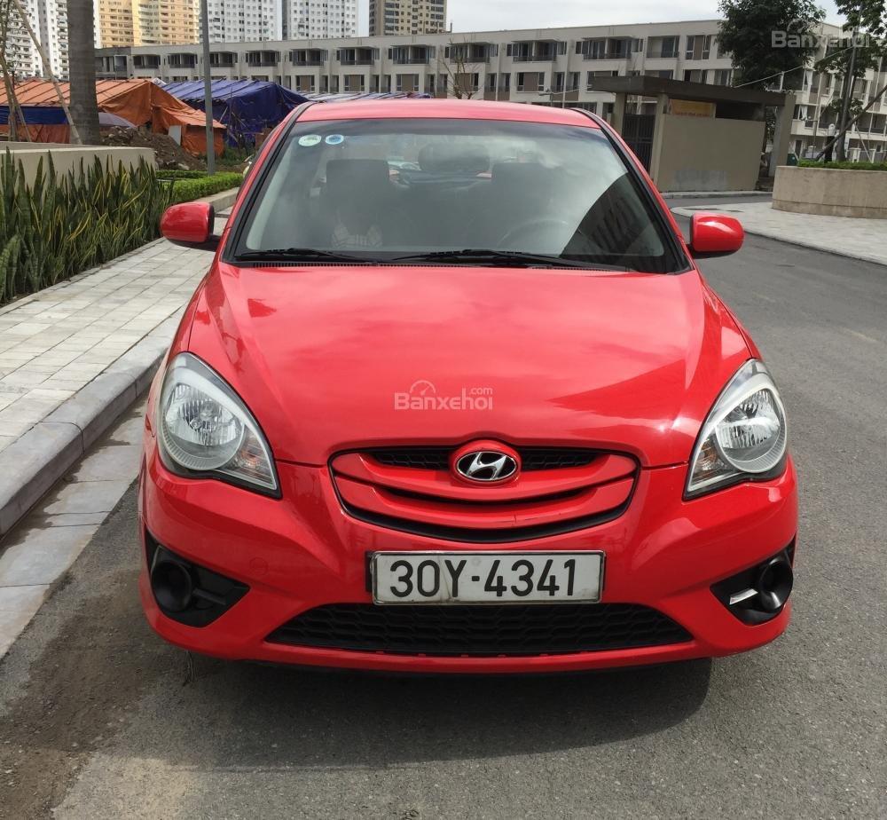Cần bán Hyundai Verna đời 2010, màu đỏ, nhập khẩu chính hãng  -0
