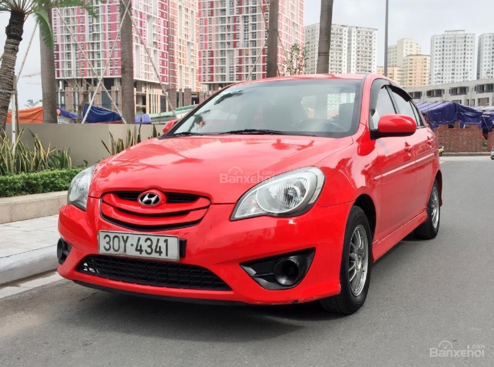 Cần bán Hyundai Verna đời 2010, màu đỏ, nhập khẩu chính hãng  -2