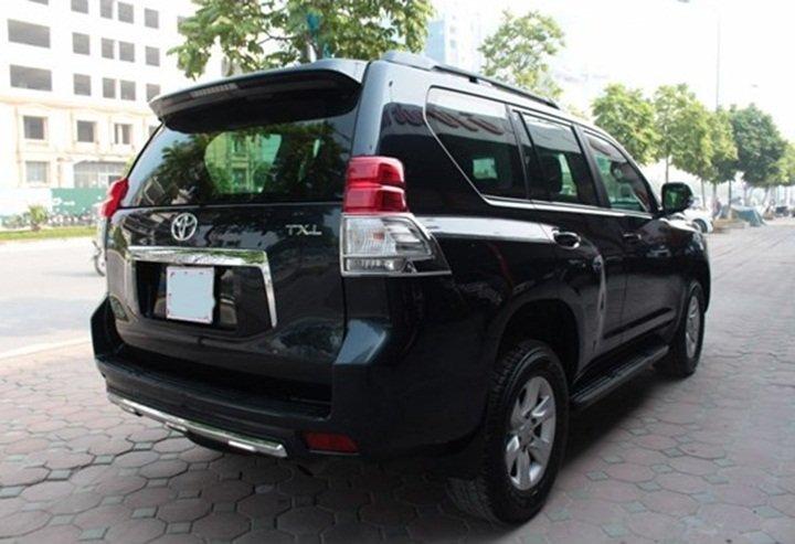 Xe Toyota Prado đời 2011, màu đen, nhập khẩu nguyên chiếc-1