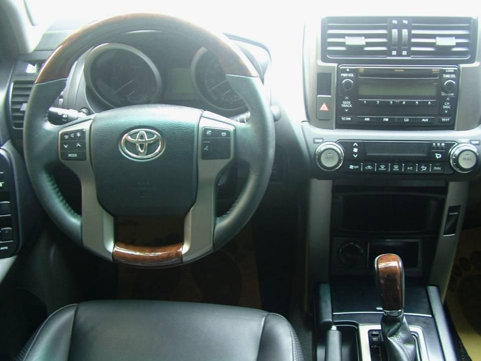 Xe Toyota Prado đời 2011, màu đen, nhập khẩu nguyên chiếc-5
