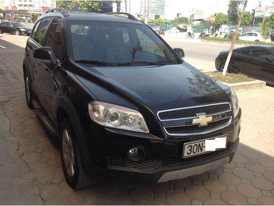 Chevrolet Captiva LT SX năm 2008, màu đen, số sàn, đăng ký một đời chủ, xe chạy 68.000km-7