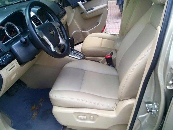 Bán xe Chevrolet Captiva LTZ màu vàng cát, số tự động, SX 2008, loại xe cao cấp-5