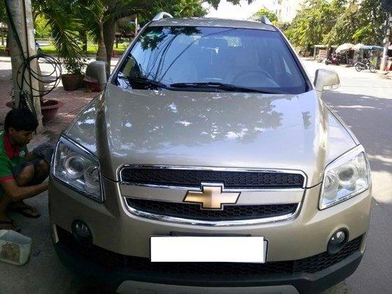Bán xe Chevrolet Captiva LTZ màu vàng cát, số tự động, SX 2008, loại xe cao cấp-0