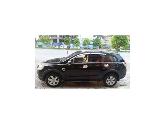 Bán xe Chevrolet Captiva đời 2009, màu đen, xe nhập-3