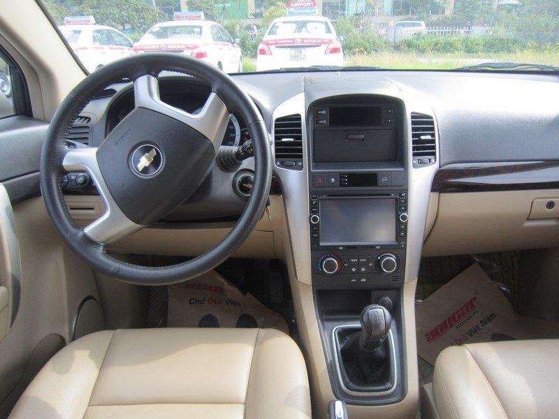 Cần bán xe Chevrolet Captiva đời 2015, màu bạc  -7
