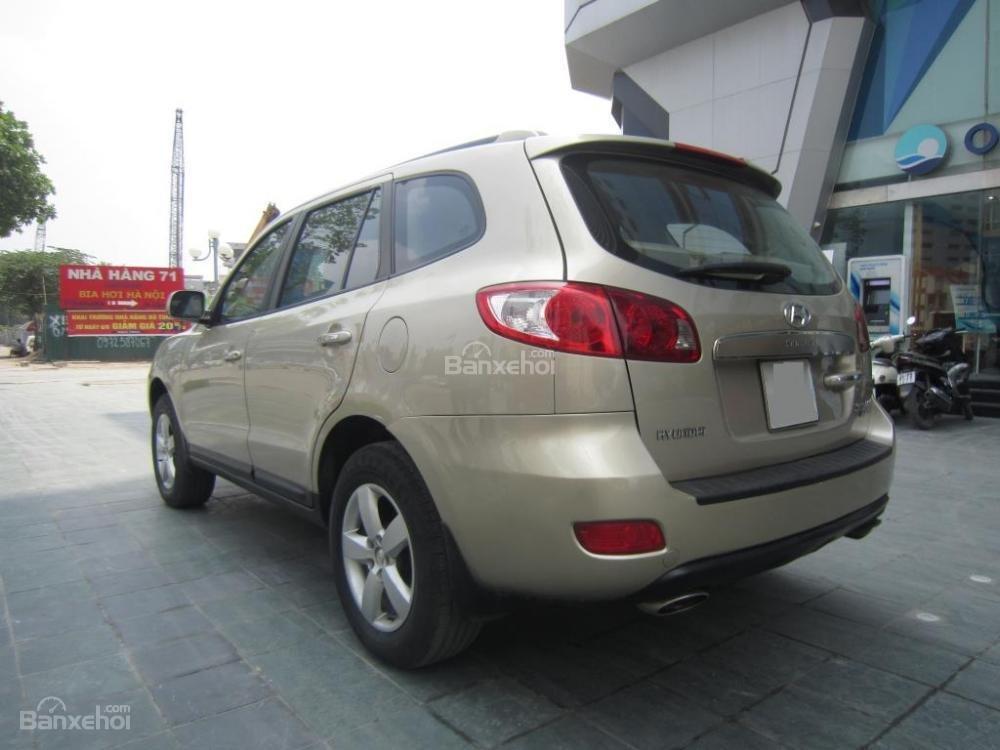 Bán Hyundai Santa Fe đời 2008, màu ghi vàng, nhập khẩu Hàn Quốc-2
