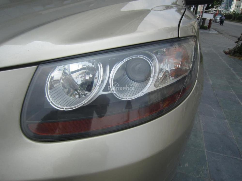 Bán Hyundai Santa Fe đời 2008, màu ghi vàng, nhập khẩu Hàn Quốc-5