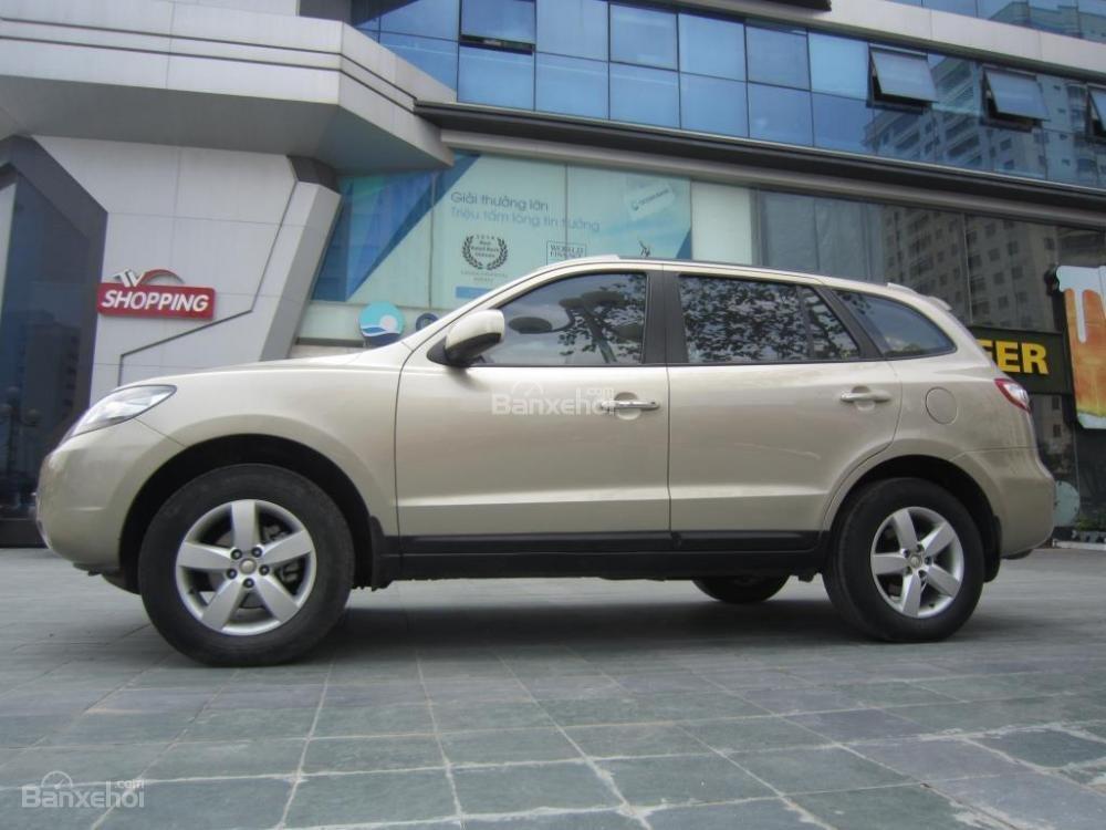 Bán Hyundai Santa Fe đời 2008, màu ghi vàng, nhập khẩu Hàn Quốc-16