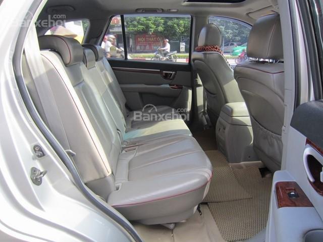 Bán xe Hyundai Santa Fe 2008, màu bạc, nhập khẩu Hàn Quốc-9
