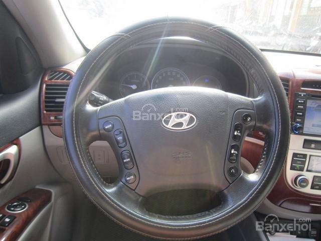 Bán xe Hyundai Santa Fe 2008, màu bạc, nhập khẩu Hàn Quốc-14