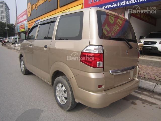 Cần bán xe Suzuki APV đời 2010, màu vàng cát số sàn-6