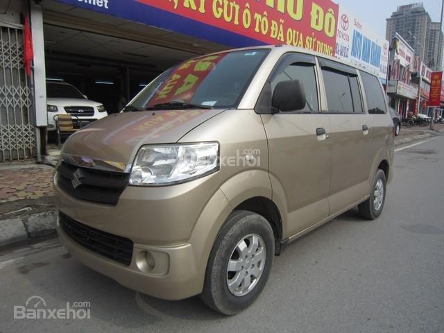 Cần bán xe Suzuki APV đời 2010, màu vàng cát số sàn-2