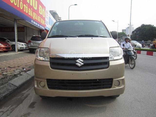 Cần bán xe Suzuki APV đời 2010, màu vàng cát số sàn-0