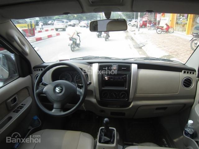 Cần bán xe Suzuki APV đời 2010, màu vàng cát số sàn-11