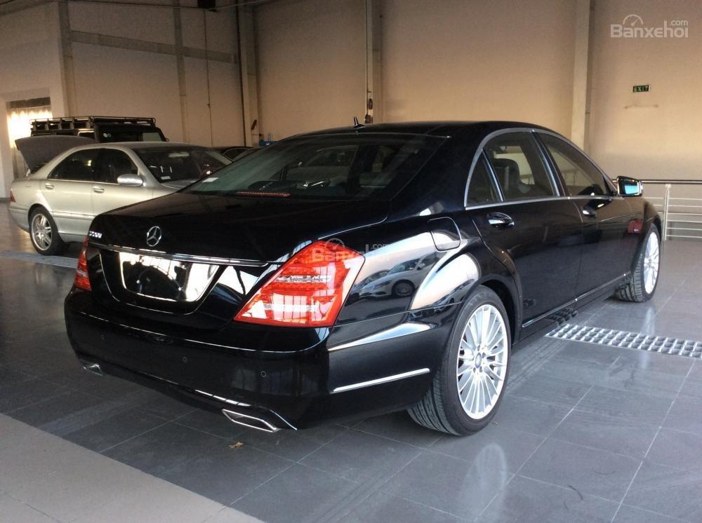 Cần bán xe Mercedes S500 đời 2011, màu đen, nhập khẩu-0