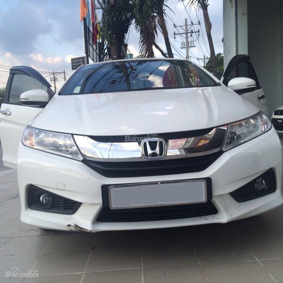 Cần bán Honda City đời 2014, màu trắng-0