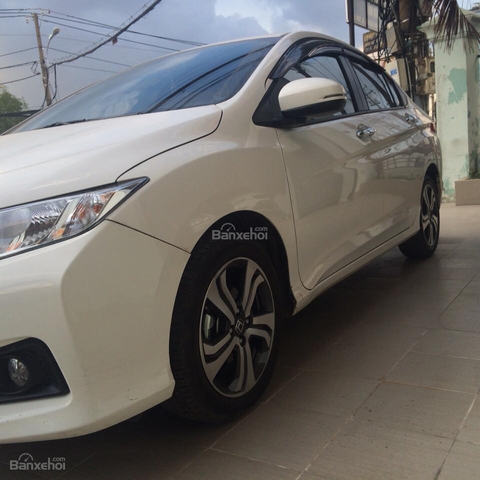 Cần bán Honda City đời 2014, màu trắng-2