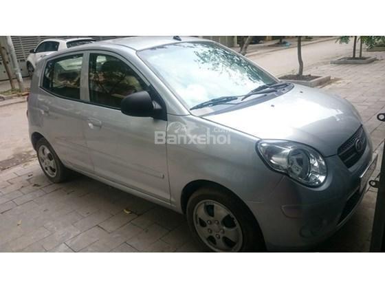 Cần bán xe Kia Morning đời 2013, màu bạc, giá 255tr-2