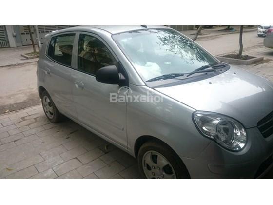 Cần bán xe Kia Morning đời 2013, màu bạc, giá 255tr-4