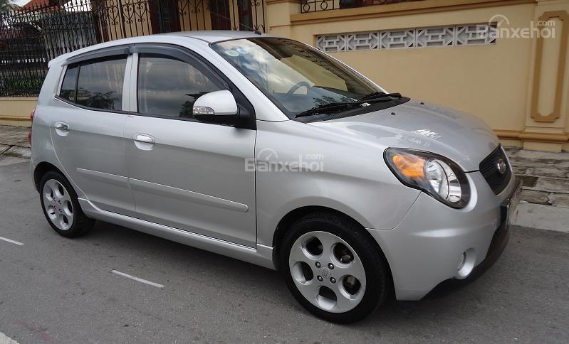 Cần bán xe Kia Morning đời 2013, màu bạc, giá 255tr-6