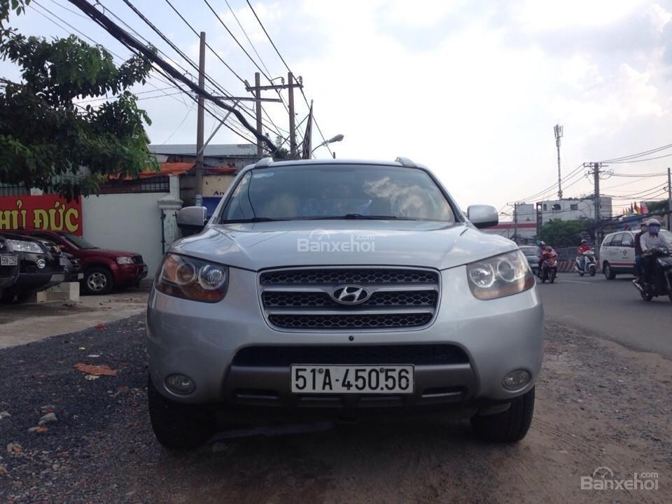 Cần bán lại xe Hyundai Santa Fe đời 2008, nhập khẩu Hàn Quốc còn mới-1
