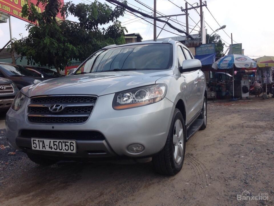 Cần bán lại xe Hyundai Santa Fe đời 2008, nhập khẩu Hàn Quốc còn mới-0