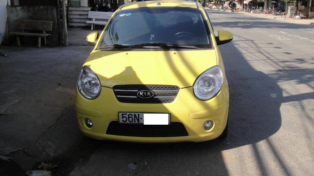 Bán ô tô Kia Morning năm 2009, màu vàng, nhập khẩu-1