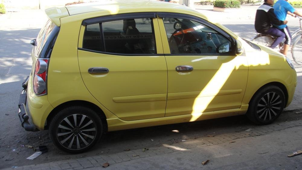 Bán ô tô Kia Morning năm 2009, màu vàng, nhập khẩu-0