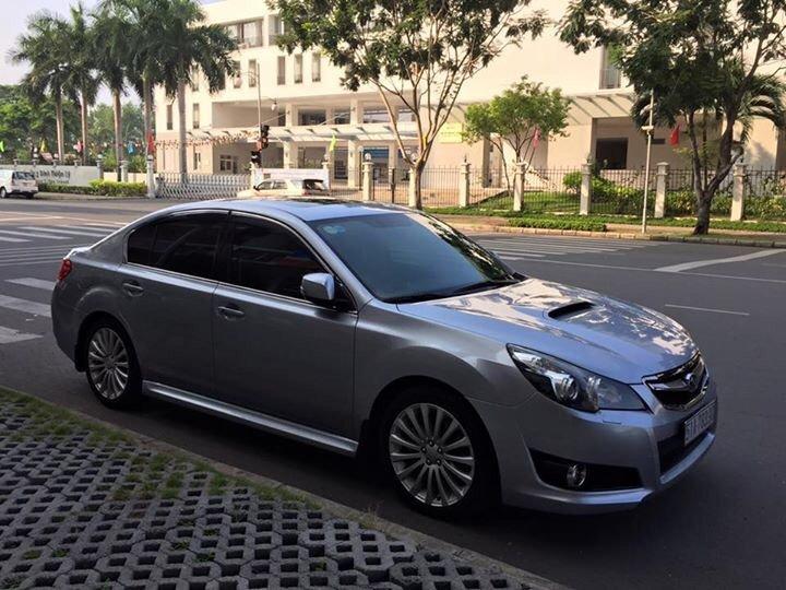 Bán ô tô Subaru Legacy đời 2011, màu xám, xe nhập-2