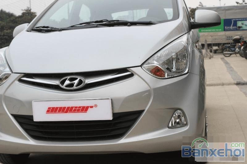 Bán xe Hyundai Eon đời 2013, màu bạc-12