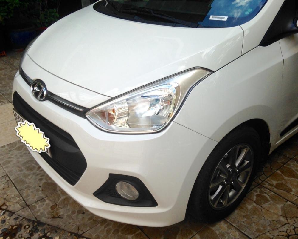 Cần bán lại xe Hyundai i10 đời 2015, màu trắng, nhập khẩu chính hãng-2