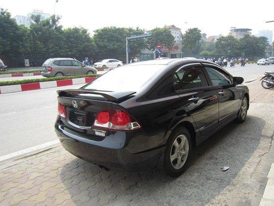 Bán xe Honda Civic đời 2009, màu đen, xe nhập, còn mới-5