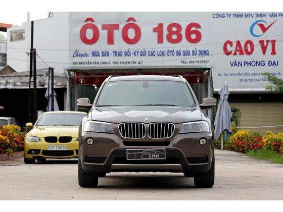 Bán ô tô BMW X3 đời 2012, màu nâu, nhập khẩu chính hãng, số tự động-1