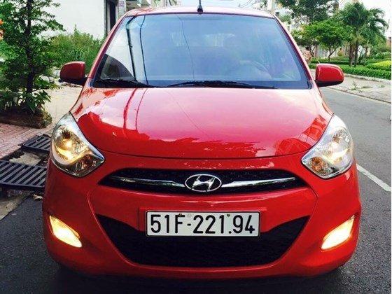 Cần bán Hyundai i10 năm 2012, màu đỏ, nhập khẩu, chính chủ-0