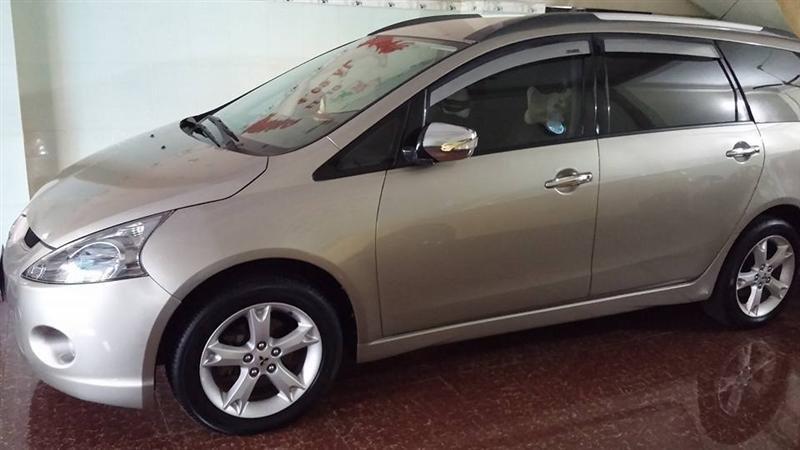 Cần bán gấp Mitsubishi Grandis đời 2009, màu bạc-0