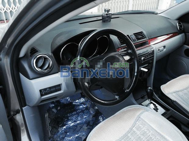 Cần bán xe Mazda 3 năm 2005, màu nâu, xe nhập, giá 395tr-3