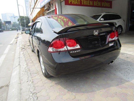 Bán xe Honda Civic đời 2009, màu đen, xe nhập, còn mới-10