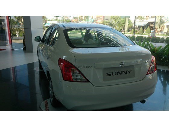Bán xe Nissan Sunny sản xuất 2015, màu nâu, xe nhập, 485 triệu-4