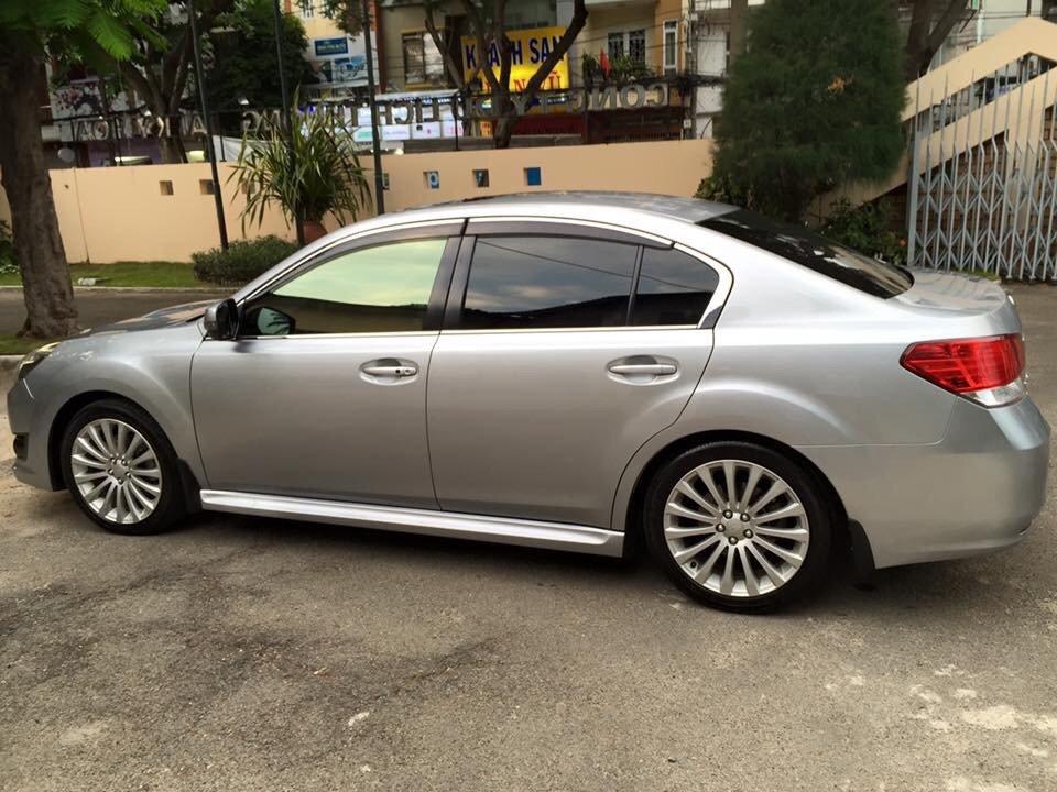 Bán ô tô Subaru Legacy đời 2011, màu bạc, xe nhập-1