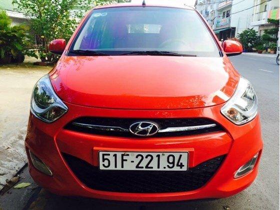 Cần bán Hyundai i10 năm 2012, màu đỏ, nhập khẩu, chính chủ-8