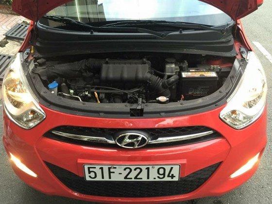 Cần bán Hyundai i10 năm 2012, màu đỏ, nhập khẩu, chính chủ-4